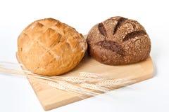 Noch Leben mit Brot Stockbild