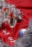 Noch Leben mit Champagner stockfotografie