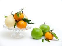 Noch Leben mit Frucht Stockbild