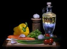 Noch Leben mit Gemüse Lizenzfreies Stockfoto