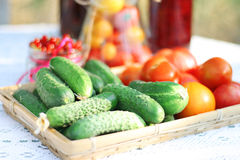 Noch Leben mit Gemüse stockfotos