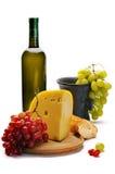 Noch Leben mit Käse Lizenzfreie Stockfotografie