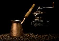 Noch Leben mit Kaffee Lizenzfreies Stockfoto