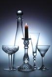 Noch Leben mit Kerze Lizenzfreie Stockbilder