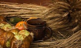 Noch Leben mit Obst und Gemüse Lizenzfreie Stockfotografie