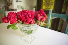 Noch Leben mit Rosen Stockbilder