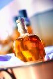 Noch Leben mit Whisky Stockfoto