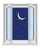 Noche stock de ilustración