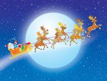 Noche antes de la Navidad stock de ilustración