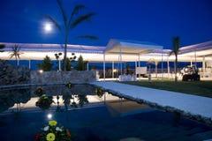 Noche azulada Foto de archivo libre de regalías