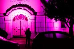 Noche blanca del festival Foto de archivo