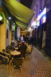 Noche Bruselas Imagenes de archivo