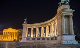 Noche Budapest Foto de archivo libre de regalías
