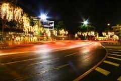 Noche céntrica Fotografía de archivo