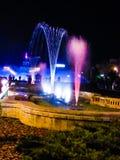Noche coloreada Foto de archivo libre de regalías