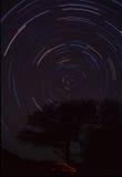 Noche de Algarrobo Araya Imagenes de archivo