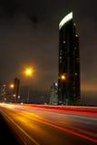 Noche de Bangkok Fotografía de archivo
