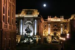 Noche de Budapest Fotos de archivo libres de regalías