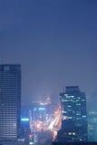 Noche de China Chengdu Foto de archivo libre de regalías