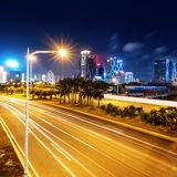 Noche de China Shenzhen foto de archivo libre de regalías