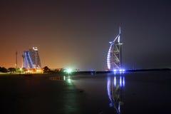 Noche de Dubai Fotografía de archivo