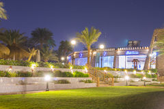 Noche de febrero en Sharm el Sheikh Imágenes de archivo libres de regalías