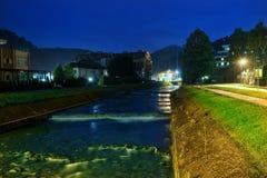 Noche de Fojnica Imagen de archivo