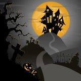 Noche de Halloween Imágenes de archivo libres de regalías