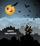 Noche de Halloween Fotografía de archivo libre de regalías