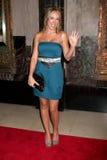 Noche de Hayley Duff Legally Blonde Play Opening Imágenes de archivo libres de regalías