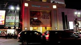 Noche de Hollywood Dolby Theatre almacen de video