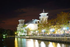 Noche de Kissimmee Fotografía de archivo libre de regalías