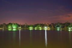 Noche de Kissimmee Foto de archivo libre de regalías
