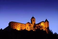 Noche de la abadía de Saeben Fotos de archivo libres de regalías