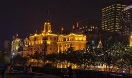 Noche de la calle de Shangai Fotografía de archivo libre de regalías