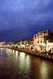 Noche de la ciudad Fotos de archivo