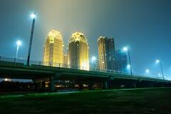 Noche de la ciudad Imagen de archivo libre de regalías