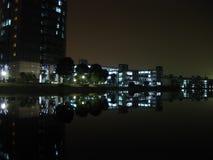 Noche de la escuela Imagenes de archivo