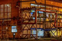 Noche de la fábrica Fotos de archivo