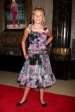 Noche de la inauguración de Kaylee Dodson Legally Blonde Play Imágenes de archivo libres de regalías