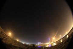Noche de la isla Foto de archivo