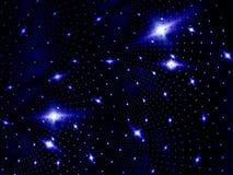 Noche de la luz de las estrellas Foto de archivo libre de regalías