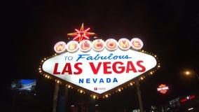 Noche de la muestra de Las Vegas almacen de metraje de vídeo