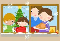 Noche de la Navidad Fotografía de archivo