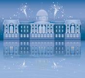 Noche de la Navidad Imagen de archivo libre de regalías
