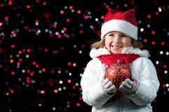Noche de la Navidad mágica Imágenes de archivo libres de regalías