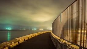 Noche de la playa Imagenes de archivo