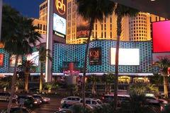 Noche de Las Vegas imagen de archivo