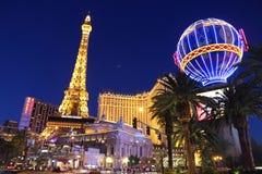 Noche de Las Vegas fotografía de archivo libre de regalías