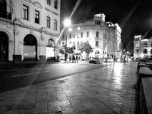 Noche de Lima del nigth de la calle Foto de archivo libre de regalías
